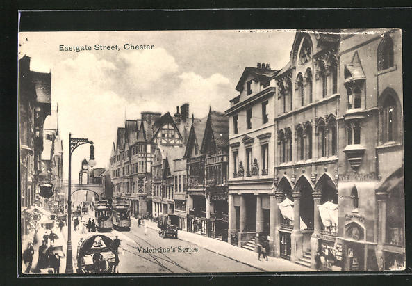 AK Chester, Eastgate Street, Tramways 0