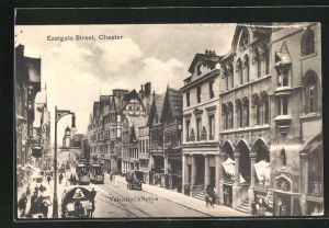 AK Chester, Eastgate Street, Tramways