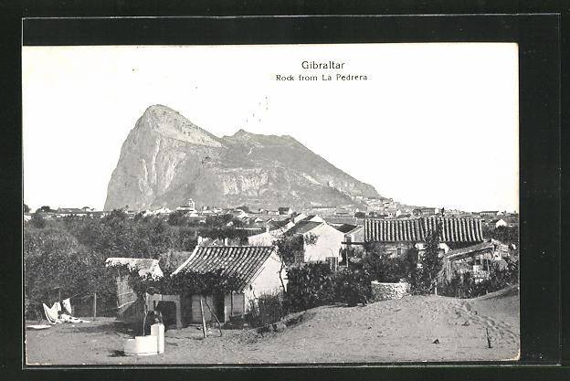 AK Gibraltar, Rock from La Pedrera