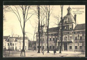 AK Groningen, Martinikerkhof met Provinciehuis