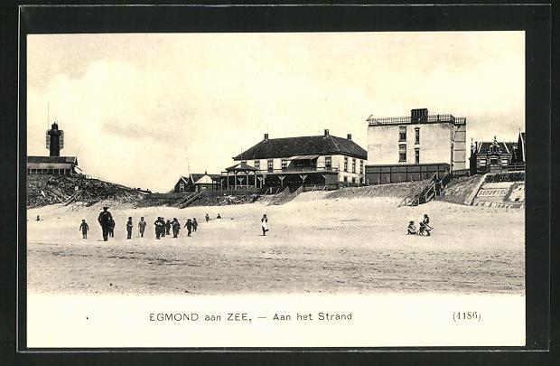 AK Egmond aan Zee, Aan het Strand