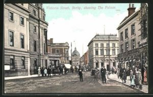 AK Derby, Victoria Street showing the Palace