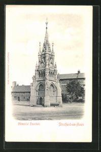 AK Stratford-on-Avon, Memorial Fountain