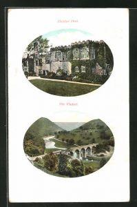 AK Bakewell, Haddon Hall, the Viaduct
