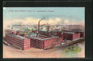 AK Leavenworth, KS, Great Western Stove Co.