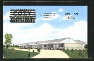 AK Allendale, SC, Sun-Tan Motel