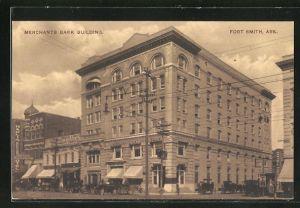 AK Fort Smith, AR, Merhants Bank Building