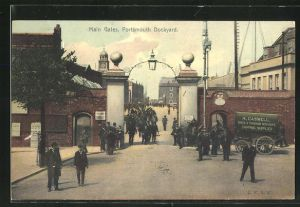 AK Portsmouth, Dockyard, Main Gates