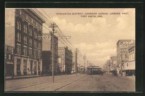 AK Fort Smith, AR, Wholesale District, Garrison Avenue