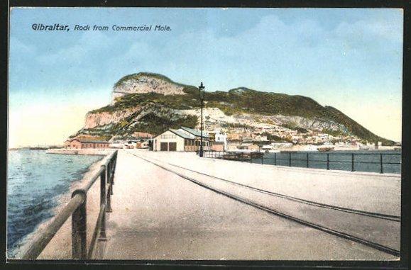 AK Gibraltar, Rock from Commercial Mole