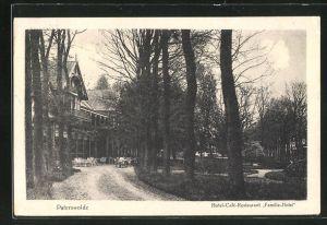 AK Paterswolde, Hotel-Café-Restaurant Familie-Hotel mit Gartenterrasse