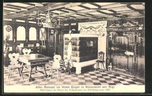 AK Küssnacht am Rigi, Alter Ratssaal im Hotel Engel