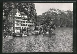 AK Gersau, Hotel Seehof am Vierwaldstättersee