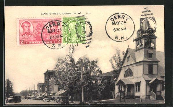 AK Derry, NH, Main Street