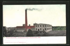 AK Stevens Point, WI, Plover Paper Mill on Wisconsin River