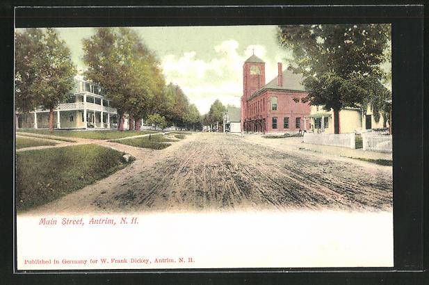 AK Antrim, NH, Main Street