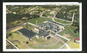 AK Atlanta, GA, Bird`s Eye View, Federal Prison