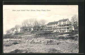 AK Stony Creek, CT, West from Island View House