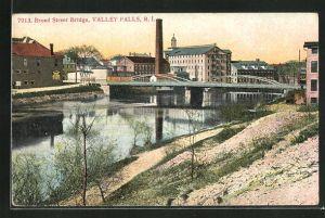 AK Valley Falls, RI, Broad Street Bridge