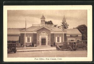 AK New Canaan, CT, Post Office