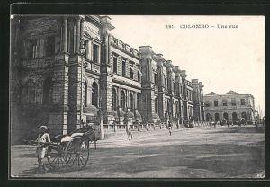 AK Colombo, Une rue