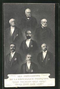 AK Les Présidents de la République Francaise