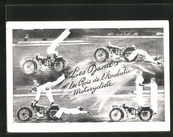 AK Les Danils, les Rois de l`Acrobatique Motorcycliste, Stuntmen, Motorrad-Akrobaten
