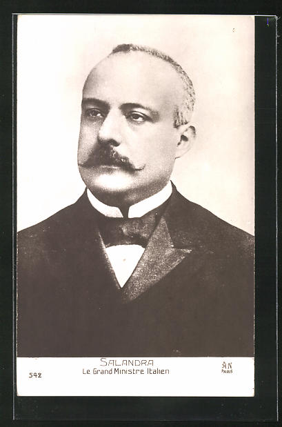 AK Porträt des italienischen Ministers Salandra 0