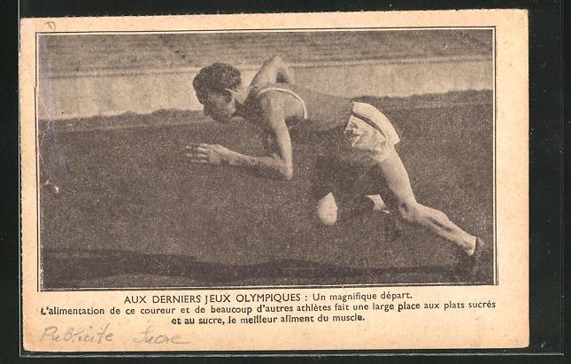 AK Sprinter trainiert für die Olympischen Spiele