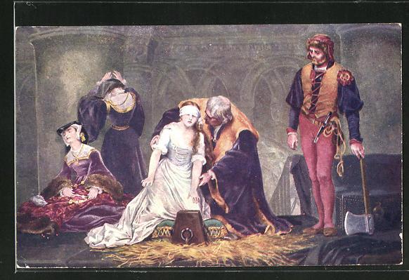 AK Execution of Lady Jane Grey 0