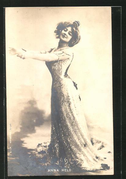 AK Anna Held, Portrait der Schauspielerin 0