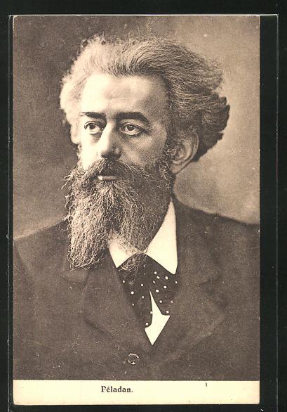 AK Péladan, Portrait des Philosophen 0