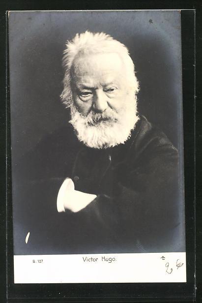 AK Victor Hugo in hohem Alter 0