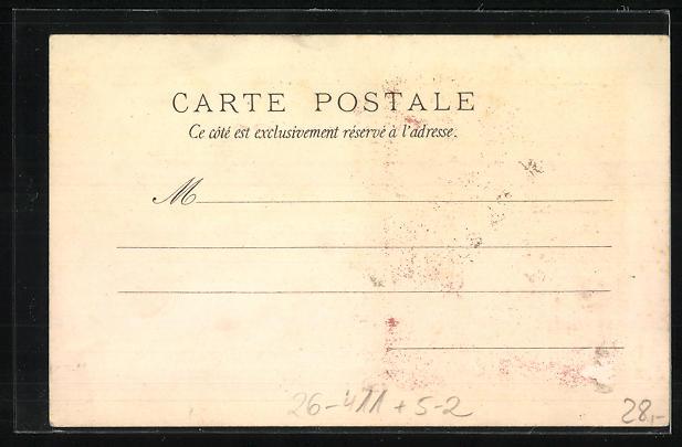 Künstler-AK Angelo Asti: Reklame für Job-Zigarettenpapier, Calendrier 1899, A. Asti, Jugendstil 1