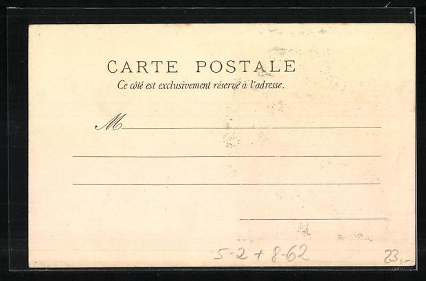 Künstler-AK Reklame für Job-Zigarettenpapier, Calendrier 1897, G. Maurice, Jugendstil 1