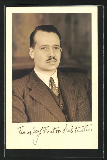AK Fürst Franz Josef von Liechtenstein 0