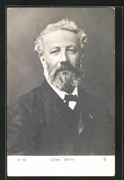 AK Portrait des Schriftstellers Jules Verne