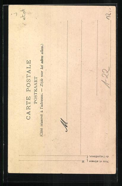 Künstler-AK Leopold II. von Belgien, Fetes de la Celebration de l`Oeuvre du Congo 1905 1