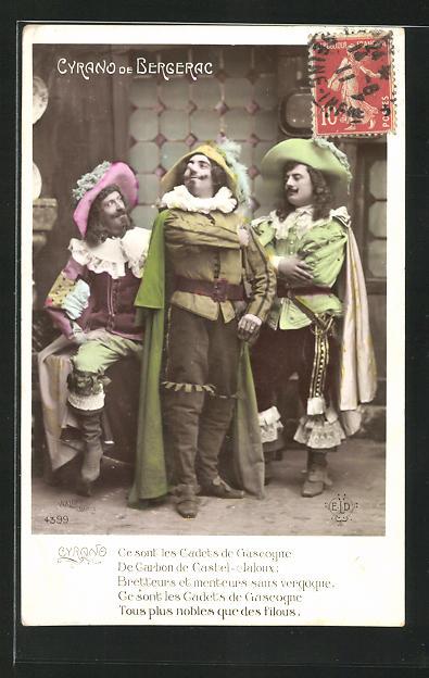 AK Cyrano de Bergerac: Ce sont les Cadets de Gascogne... 0