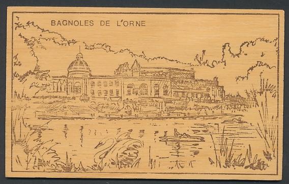 Holz-AK Bagnoles de l`Orne, Le Casino du Lac 0