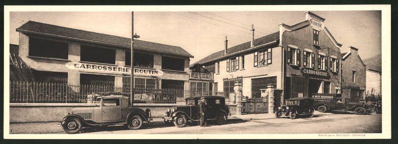 Klapp-AK Grenoble, Carrosserie Automobile Marius Routin, 8 Rue Genin 0