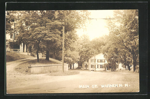 Foto-AK Warner, NH, Main St. 0