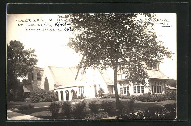 Foto-AK Kenil Worth, IL, Rectory & Church of the holy Lomforter 0