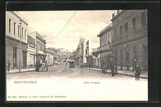 AK Montevideo, Calle Uruguay 0
