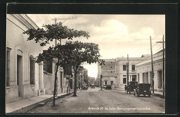 AK Barranquilla, Avenida 20 de Julio 0