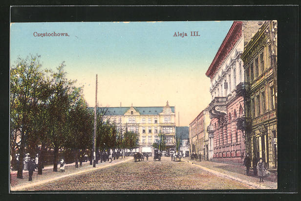 AK Tschenstochau-Czestochowa, Aleja III. 0