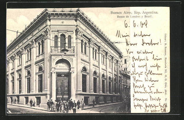 AK Buenos Aires, Banco de Londres y Brasil 0
