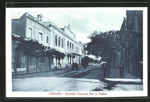 AK Cordoba, Avenida General Paz y Teatro 0