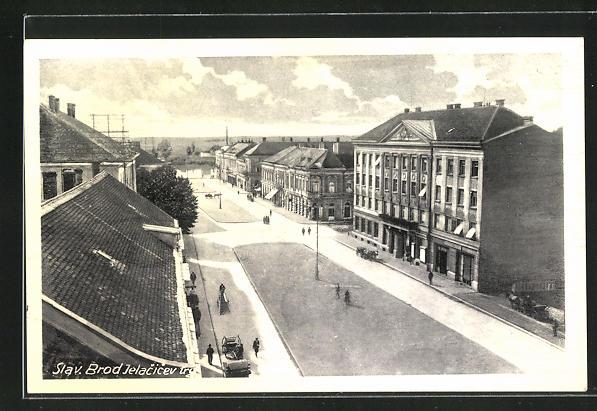 AK Slavonski Brod, Jelacicev trg 0