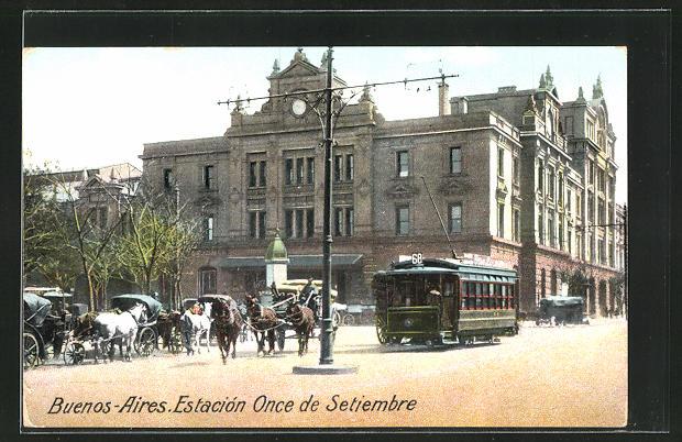 AK Buenos Aires, Estacion Once de Setiembre, Tramway 0